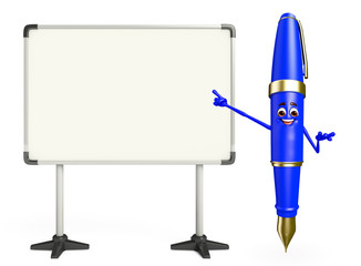 Pen Character with display board