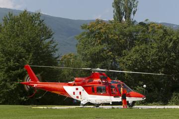 Ambulance Helicopret
