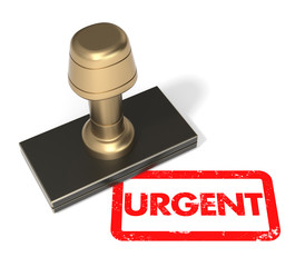 "Rubber stamp ""Urgent"""