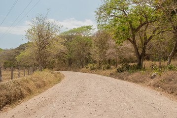 Gravel Road in Costa Rica