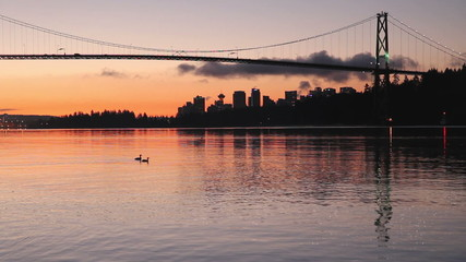 Burrard Inlet, Lions Gate Dawn, Vancouver