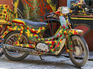 hippie motorcycle