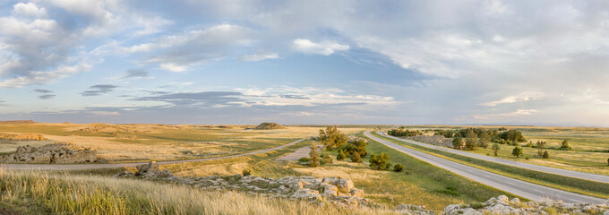 northern Colorado prairie panorama