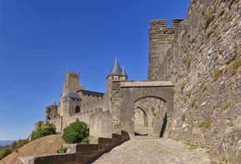 La Porte de Aude  in Carcassonne - France