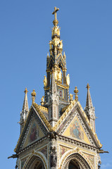 Top of albert memorial hyde park
