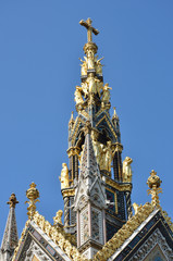 Top of albert memorial
