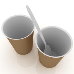 fast-food disposable tableware