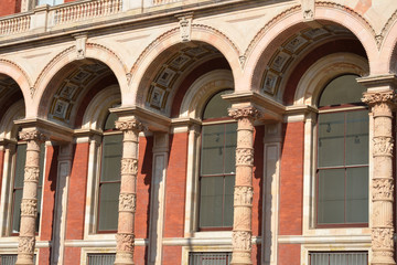 Facade of Victoria and Albert Museum