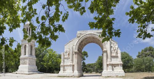 Papiers peints Ruine Roman Triumphal arch, Glanum, Saint-Remy-de-Provence,
