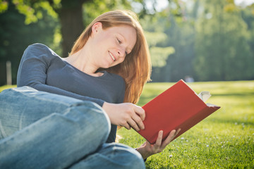 Leisure Reading in Nature