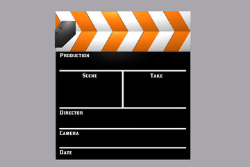 Orange Clapboard