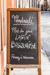 Restaurant in Provence