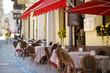 Beautiful outdoor restaurant in Vilnius - 68003234