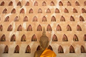Buddhas en Wat Si Saket, Vientián, Laos