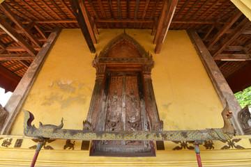 Naga en Wat Si Saket, Vientián, Laos