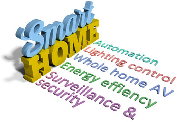 Smart home efficient automation tech