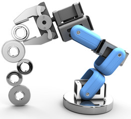 Robot arm technology industrial gears