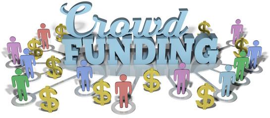 Crowdfunding US people start investing