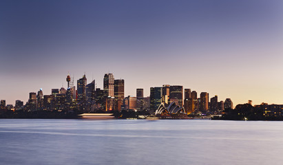 Sydney Cremorne Panorama Sunset