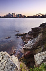 Sydney Cremorne Vertical Sunset