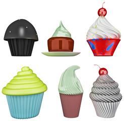 Multi Cupcake