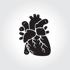 Human's heart icon