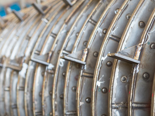 Industrial dryer abstract