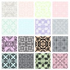 Set of lace