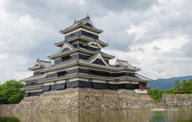 Historic Matsumoto castle in Japan