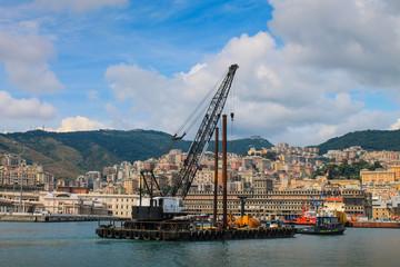 harbor maritime Genoa