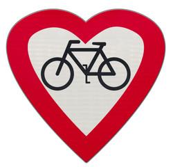 parcours santé coeur, faire du vélo