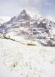 スイス アルプス 雪山