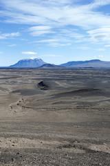 Islanda, paesaggio di lava