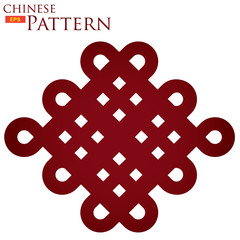 traditional chinese knot pattern