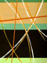 en abstrakt målning