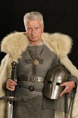 Mature Medieval knight