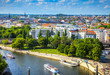 canvas print picture - Berlin Potsdam and its surroundings.