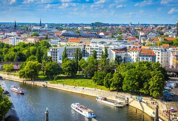 Berlin Potsdam and its surroundings.