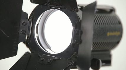 including light of spotlight