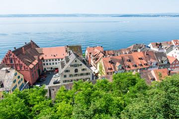 Meersburg at Lake Constance