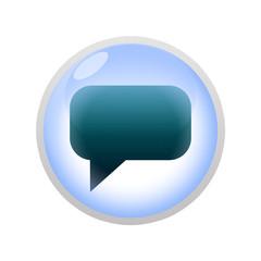 Icone bulle d'eau : message