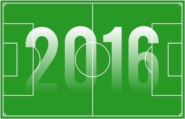 Fußball France 2016 Spielfeld
