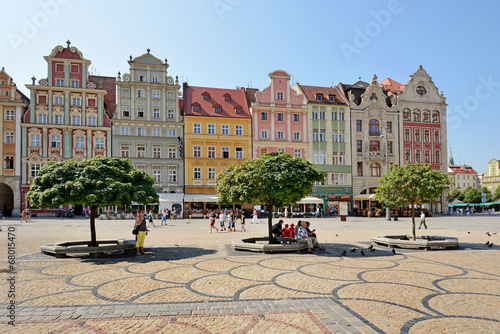 Leinwandbild Motiv Wroclaw, Poland