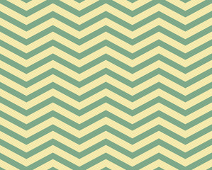 Green and Yellow Chevron Zigzag Textured Fabric Pattern Backgrou