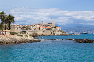 Antibes, France. Picturesque old fortress