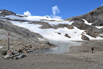 Mountains Austrian Alps Glacier Glacier Pasterze