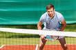 canvas print picture - Confident tennis player.