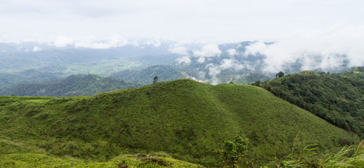 panorama mountain view