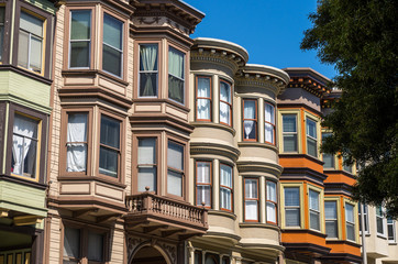 San Francisco - Colourfull Houses