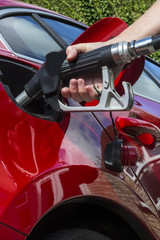 Pumping Gas - Filling a car with fuel